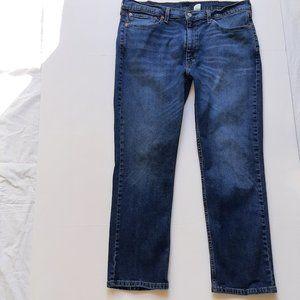 Levi's 514 Light Wash Straight Leg Men's Jeans